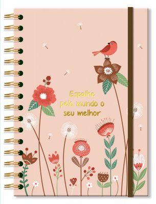 Caderno Jardim 96 fls