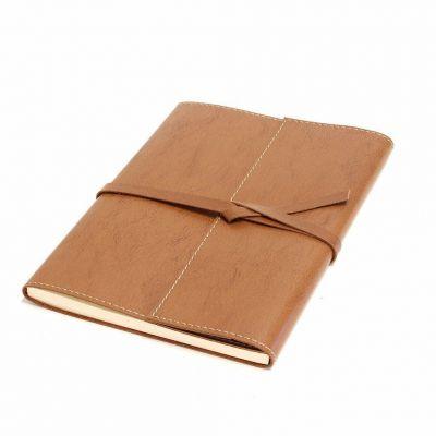 Caderno Medieval Montana Havana 18x24cm Atelier Luiz Fernando Machado