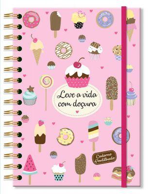 Caderno pontado Docinhos Fina Ideia