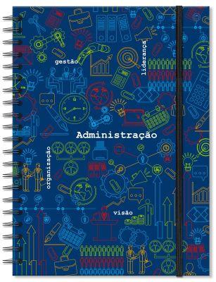 Caderno Universitário Administração Fina Ideia