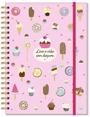 Caderno Universitário Docinhos Fina Ideia