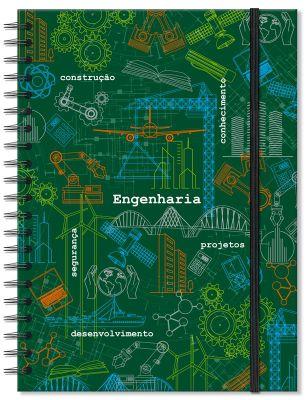 Caderno Universitário Engenharia Fina Ideia