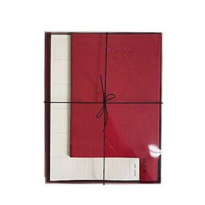 Caixa Planejamento Semanal Vermelha