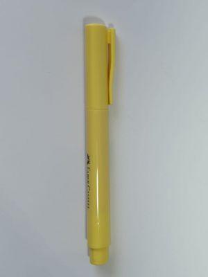Caneta Marca Texto Grifpen Pastel Amarelo