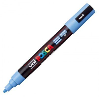 Caneta Uni Posca PC-5M Azul Céu