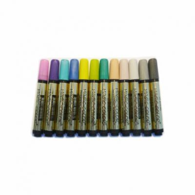 Canetas Magic Color Ouro 12 cores Ref 643