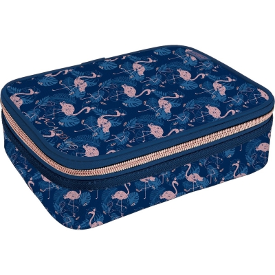ESTOJO BOX ACADEMIE FLAMINGO TILIBRA