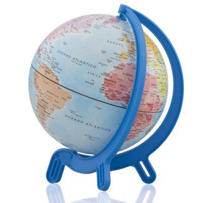 Globo Terrestre de Mesa Azul