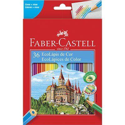 Lápis de cor 36 cores Faber-Castell