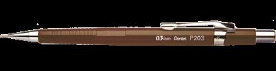 LAPISEIRA 0,3MM P203 MARROM PENTEL