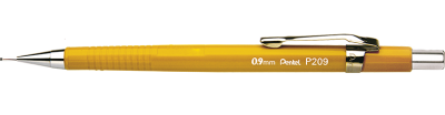 LAPISEIRA 0,9MM P209  AMARELA PENTEL