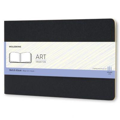 Caderneta Moleskine Art Plus Sketch Preto 14x9
