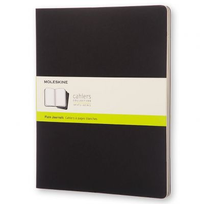 Caderneta Moleskine Cahiers Preto 9x14