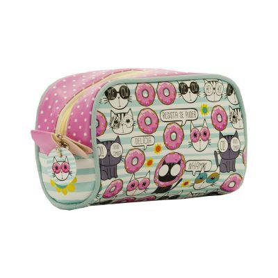 Necessaire de Viagem Pequena 'Donuts'