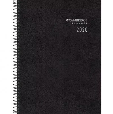 Planner Cambridge Espiral 2020
