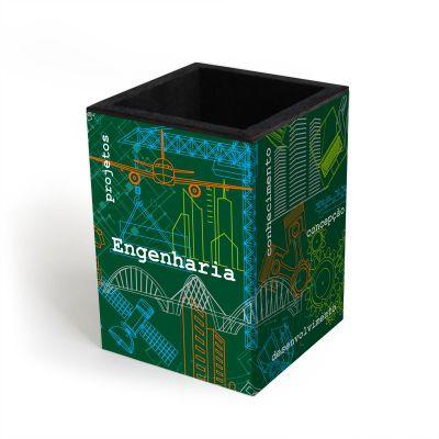 Porta-lápis Engenharia