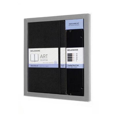 Caderneta Moleskine Art Plus Sketching Kit Pour Croquis