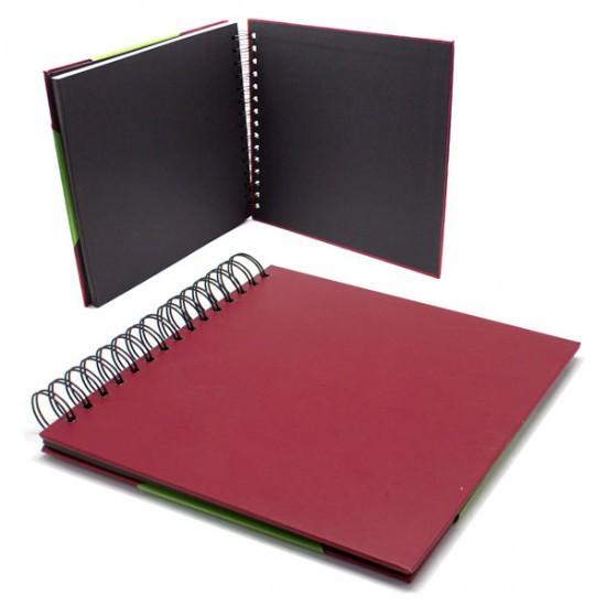 Álbum de Scrapbook 20x20cm