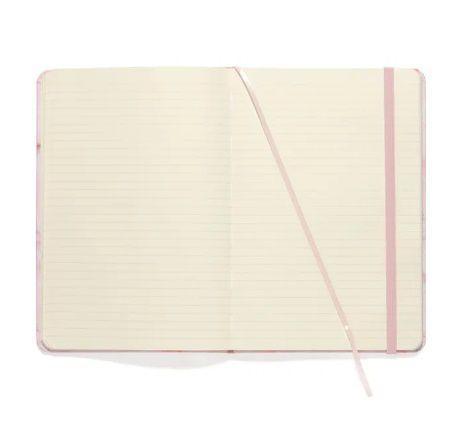 Caderneta Pautada Mármore