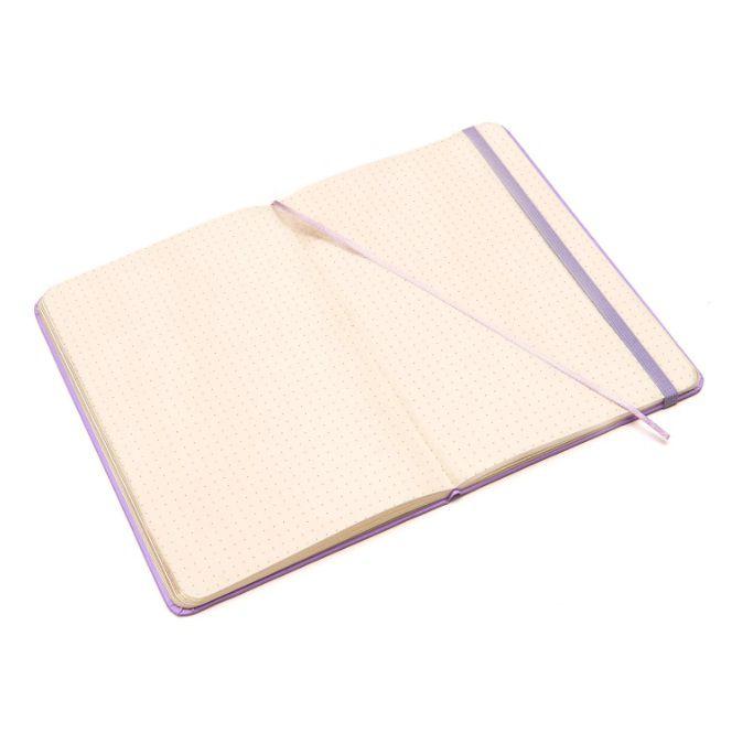 Caderneta Pontada Clássica Pastel