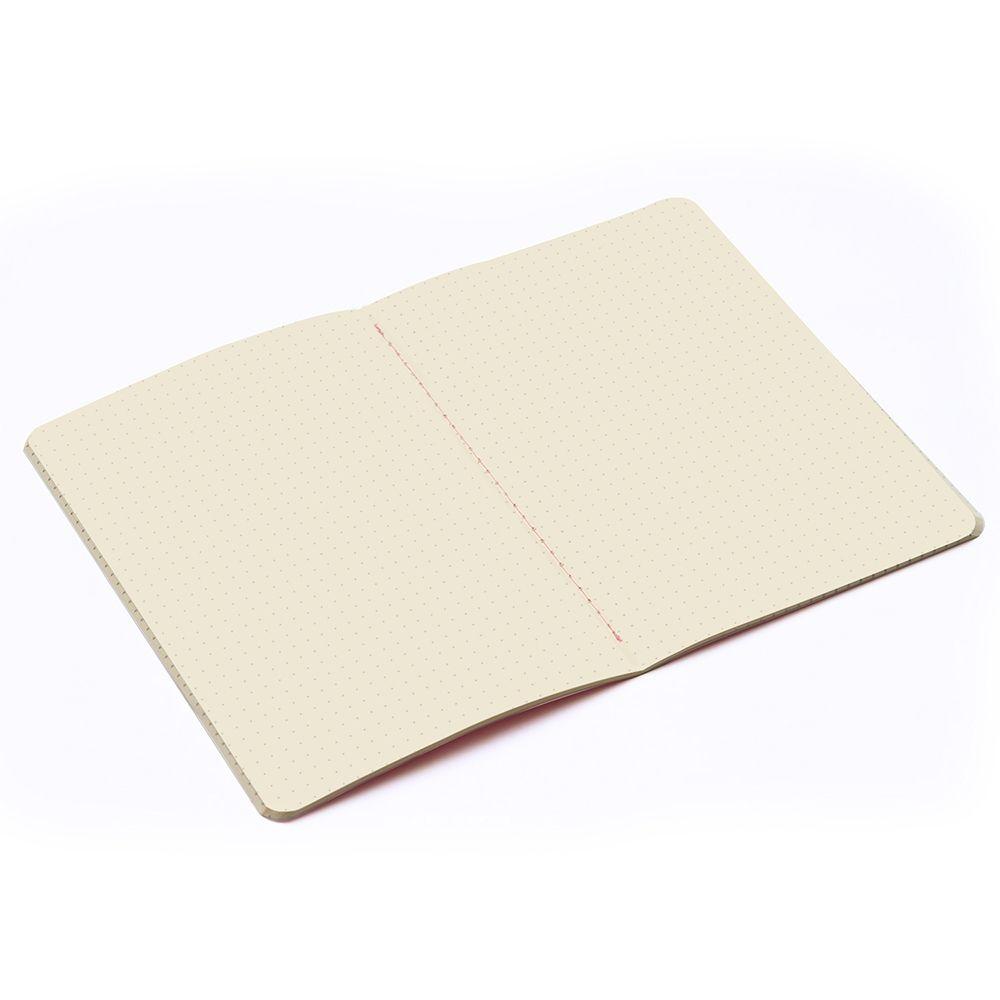Caderneta Pontada Estampada Meu Pequeno Cícero