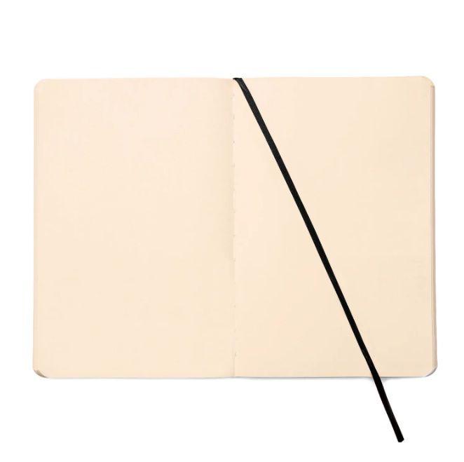 Caderneta Sem Pauta Flex Preta Cícero