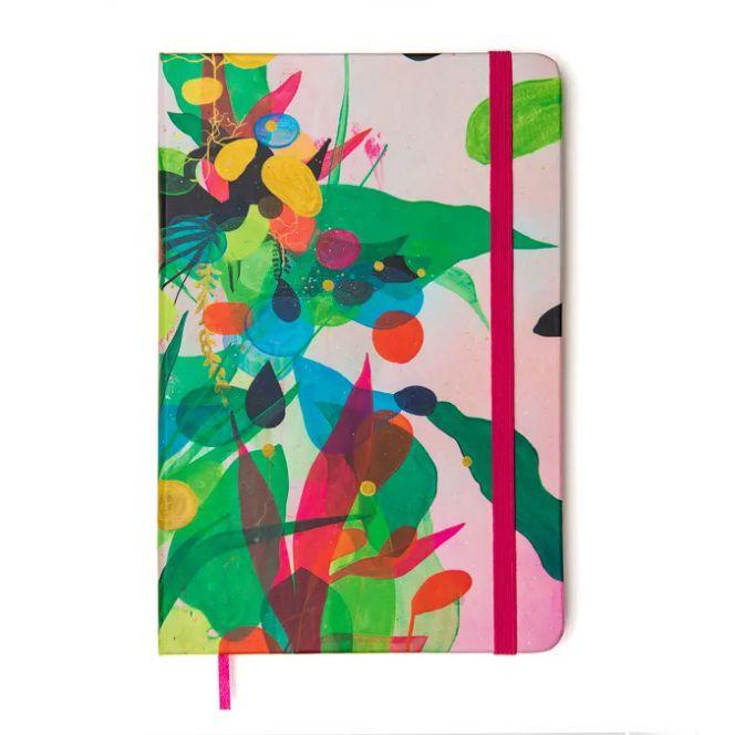 Caderneta sem Pauta ' Grafite por Erica Mizutani'