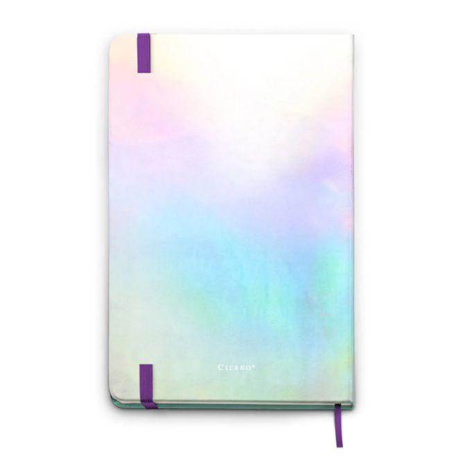 Caderneta Sem Pauta Holográfica