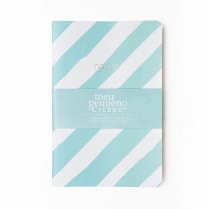 Caderneta Sem Pauta Estampada Meu Pequeno Cícero