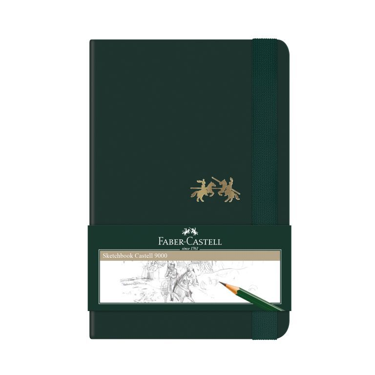 Caderneta Sketchbook Faber-Castell 92 x 137 mm