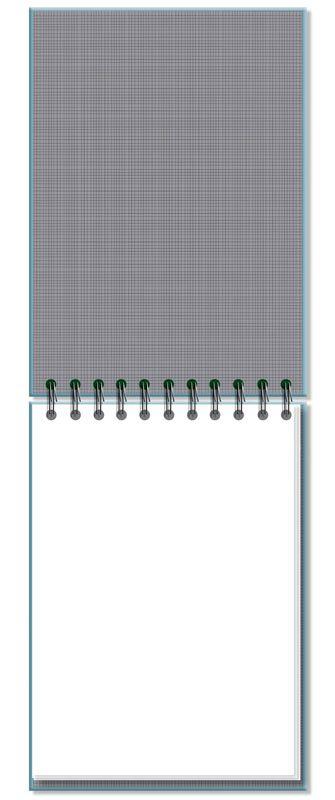 Caderno de Ideias Office Azul