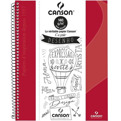Caderno Desenho Canson