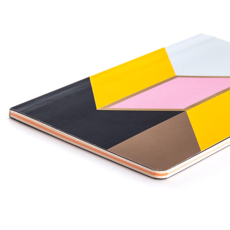 Caderno Flex Papertalk Maxi Allegro Stripes