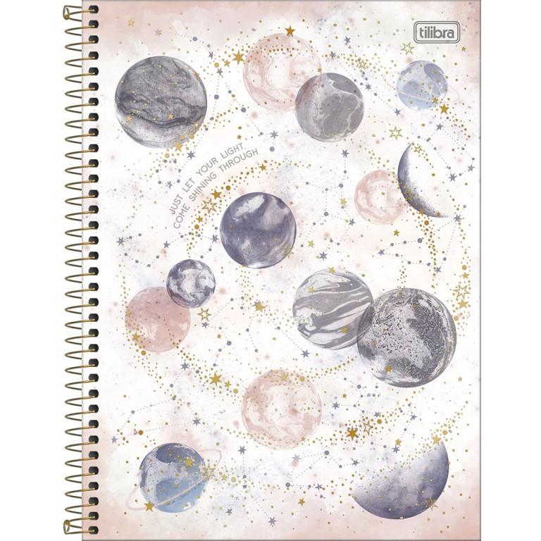 Caderno Pautado Planetas Tilibra