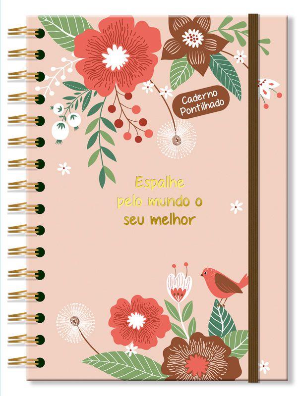 Caderno Pontado Jardim