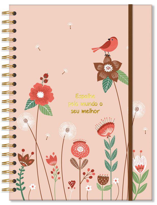 Caderno Universitário Jardim