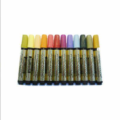 Canetas Magic Color Ouro 12 cores Ref 642