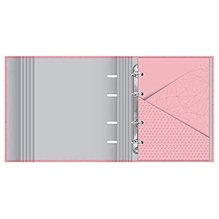 Fichário Pink Stone Geométrico