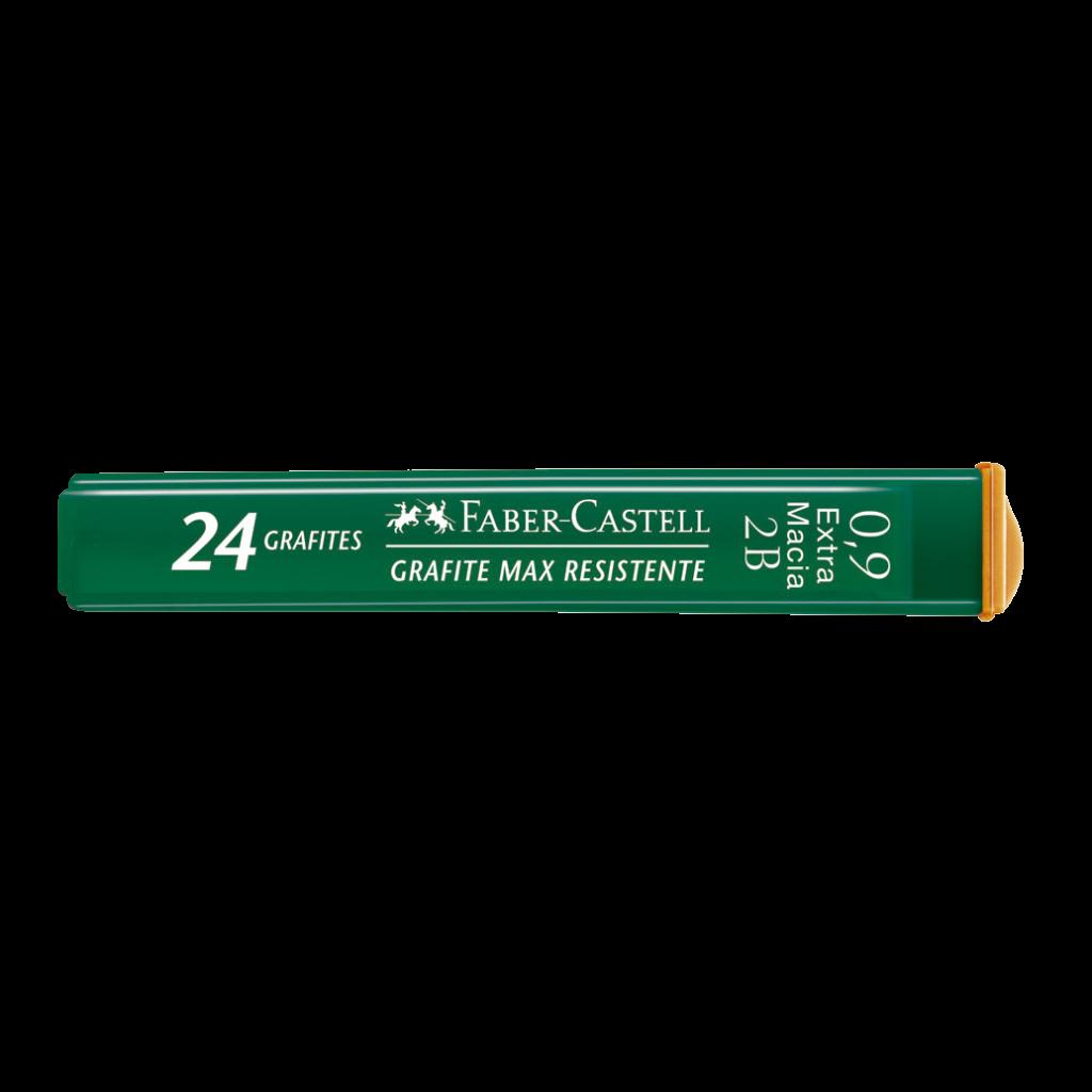 GRAFITE 0,9MM 2B COM 24 UNIDADES FABER-CASTELL