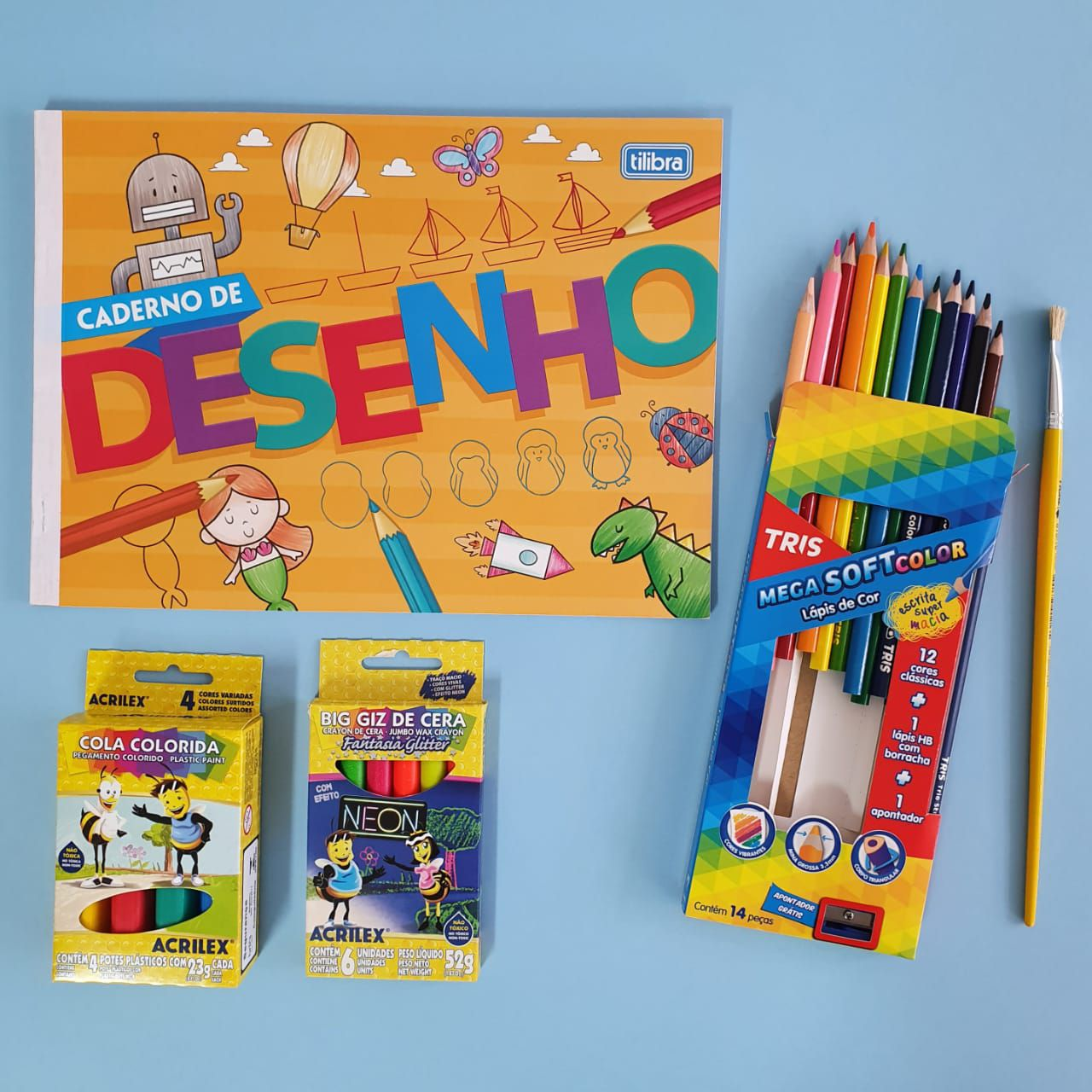 Kit Brincante Desenho