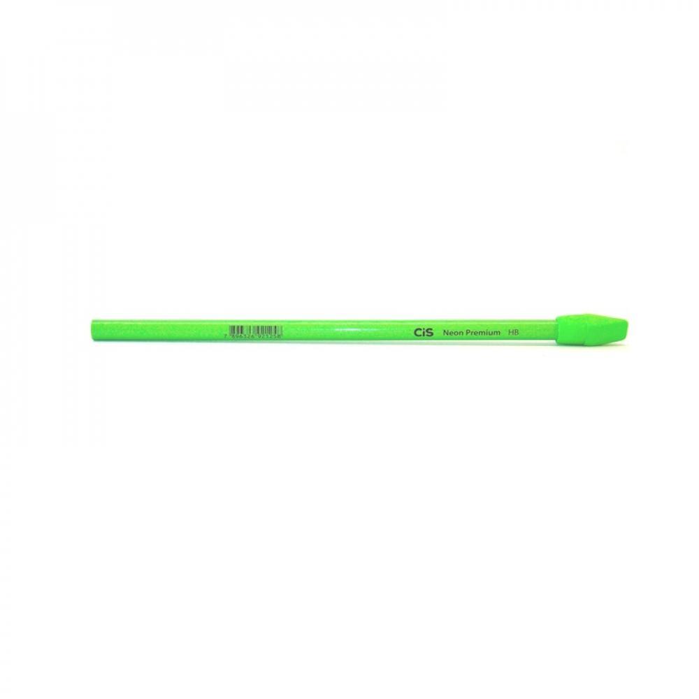 Lápis Preto Neon com Borracha CIS