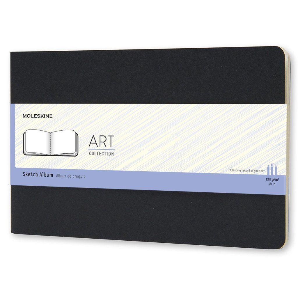 Caderneta Moleskine Art Plus Sketch Preto 21x13