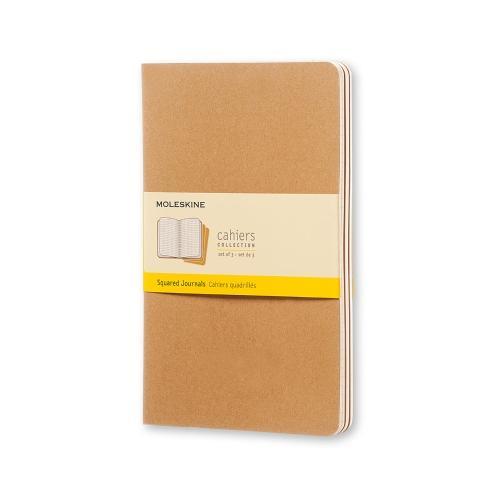 Caderneta Moleskine Cahiers Kraft 13x21
