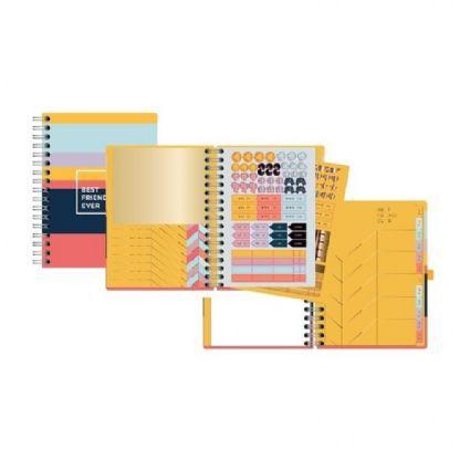 Planner A5 Permanente Allegro Stripes
