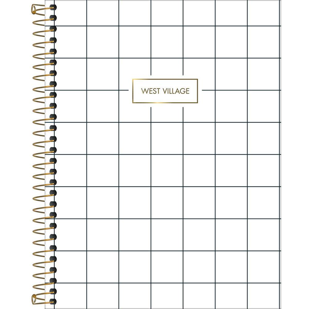 Planner West Village Quadrados 2020