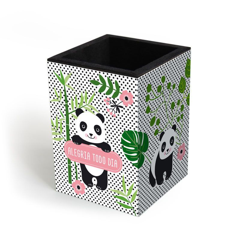 Porta-lápis 'Panda'