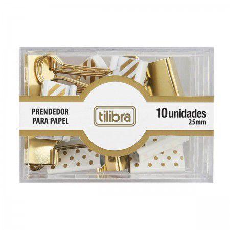 Prendedor para Papel Estampado 25mm Tilibra