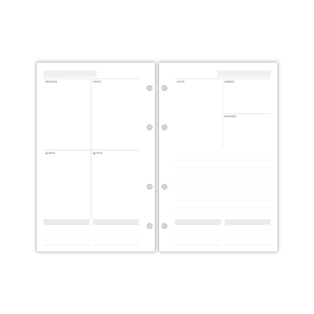 Refil Permanente Planner Maxi