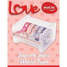 SUPORTE PARA WASHI TAPE LOVE MOLIN