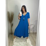 Vestido Juliete azul royal